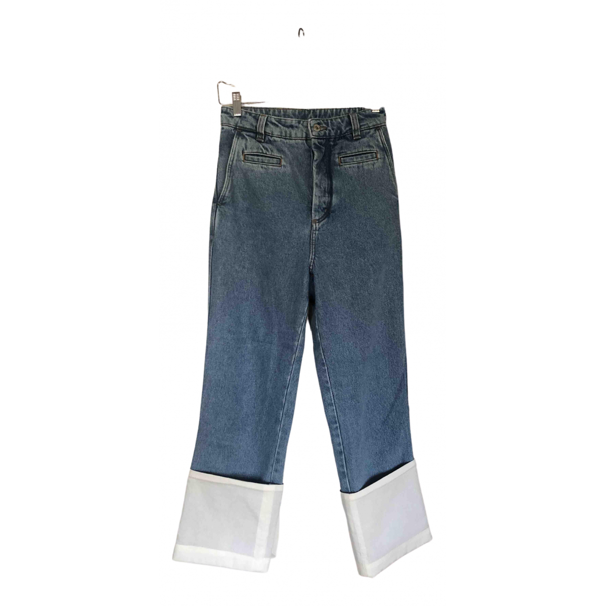 Loewe \N Blue Cotton Jeans for Men 27 US