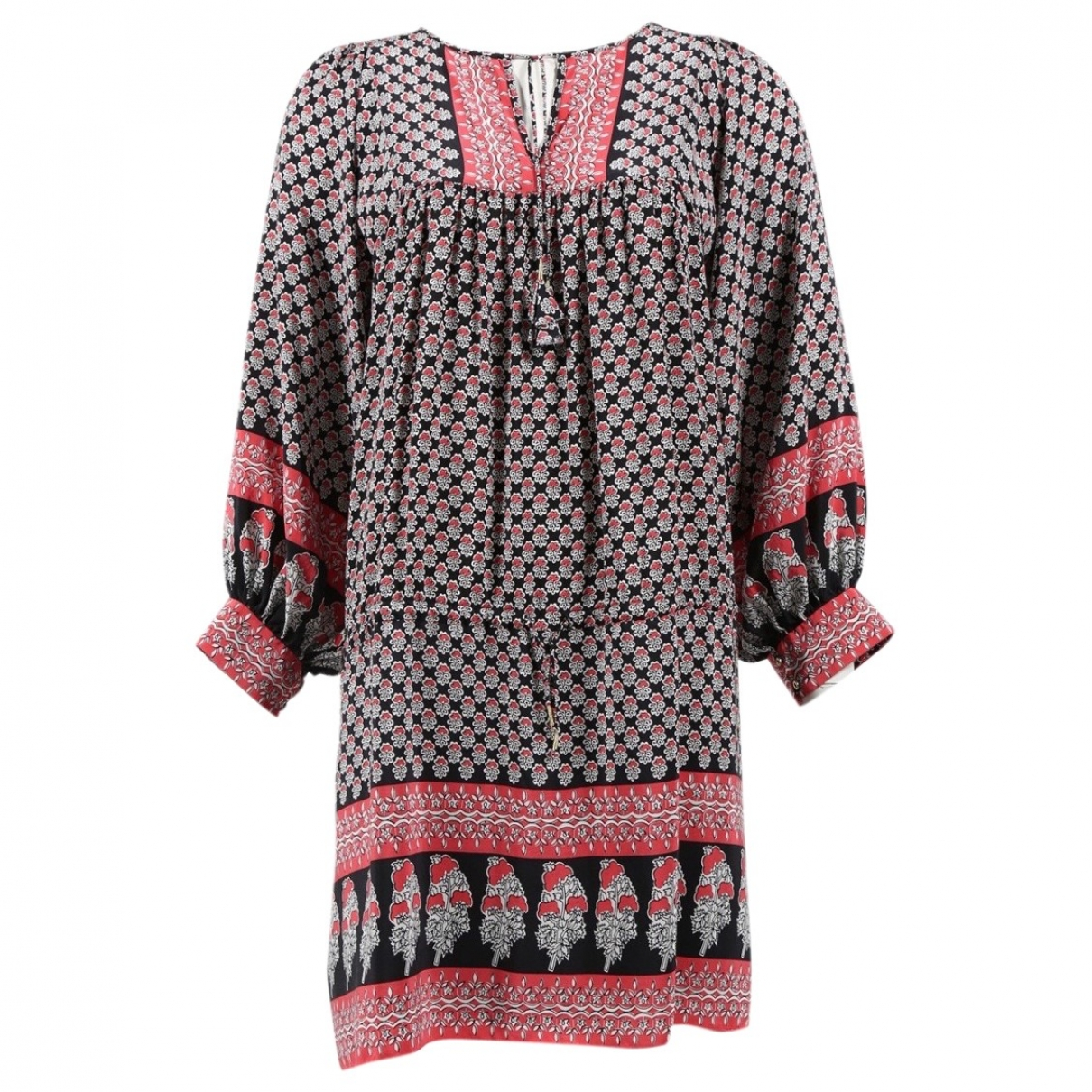 Ulla Johnson \N Black Silk dress for Women 6 US