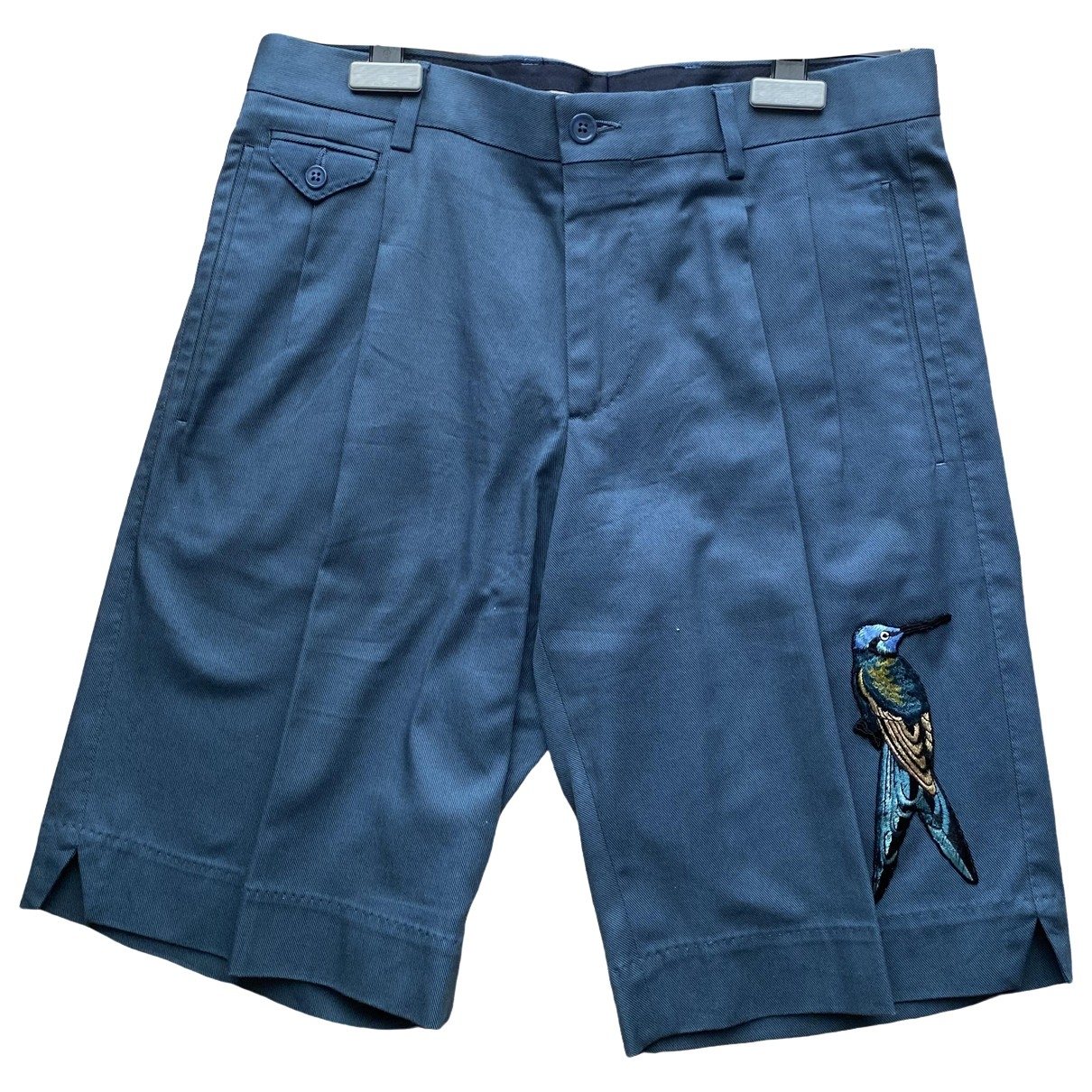 Dolce & Gabbana \N Blue Cotton Trousers for Men 44 IT