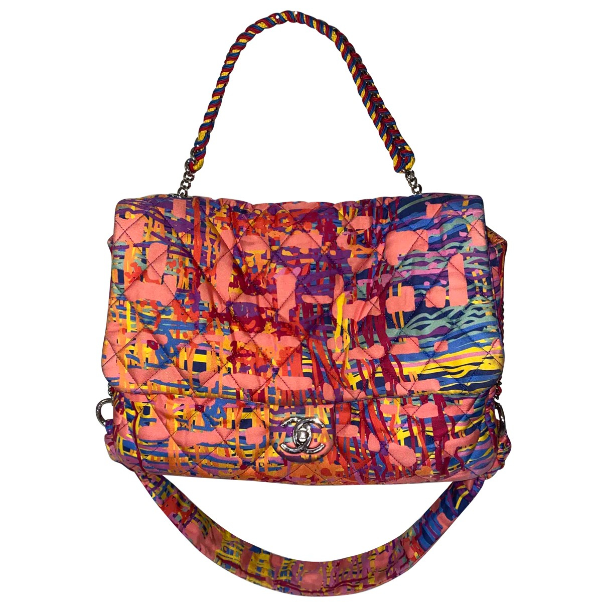 Chanel \N Multicolour Silk handbag for Women \N