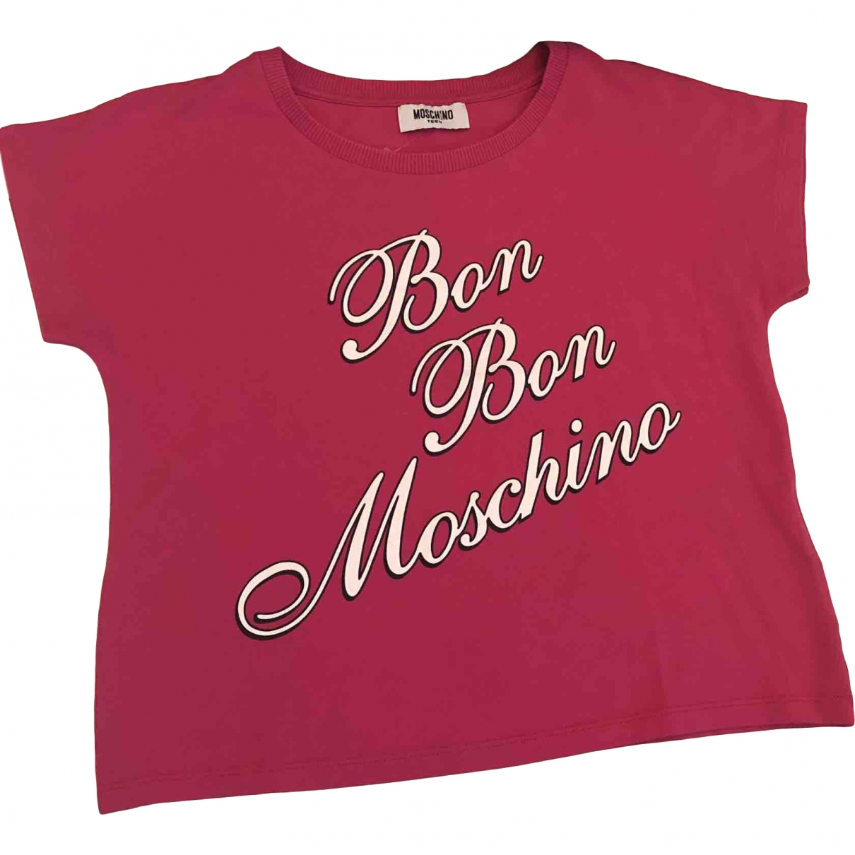 Moschino \N Pink Cotton  top for Kids 12 years - XS FR
