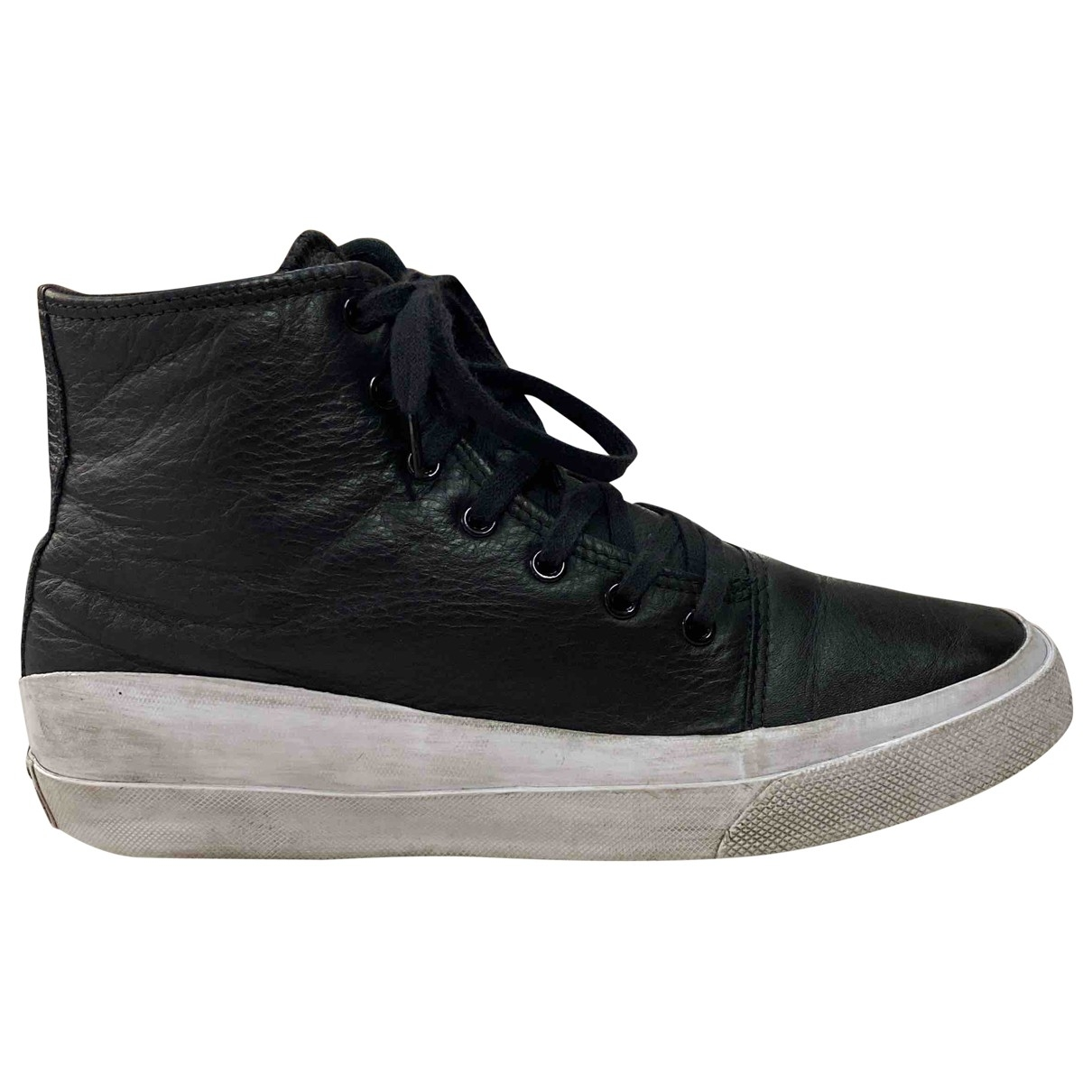 Converse \N Black Leather Boots for Men 42 EU