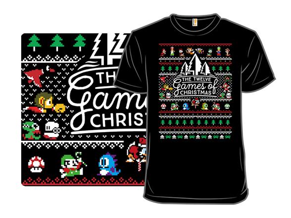 12 Games Of Christmas T Shirt