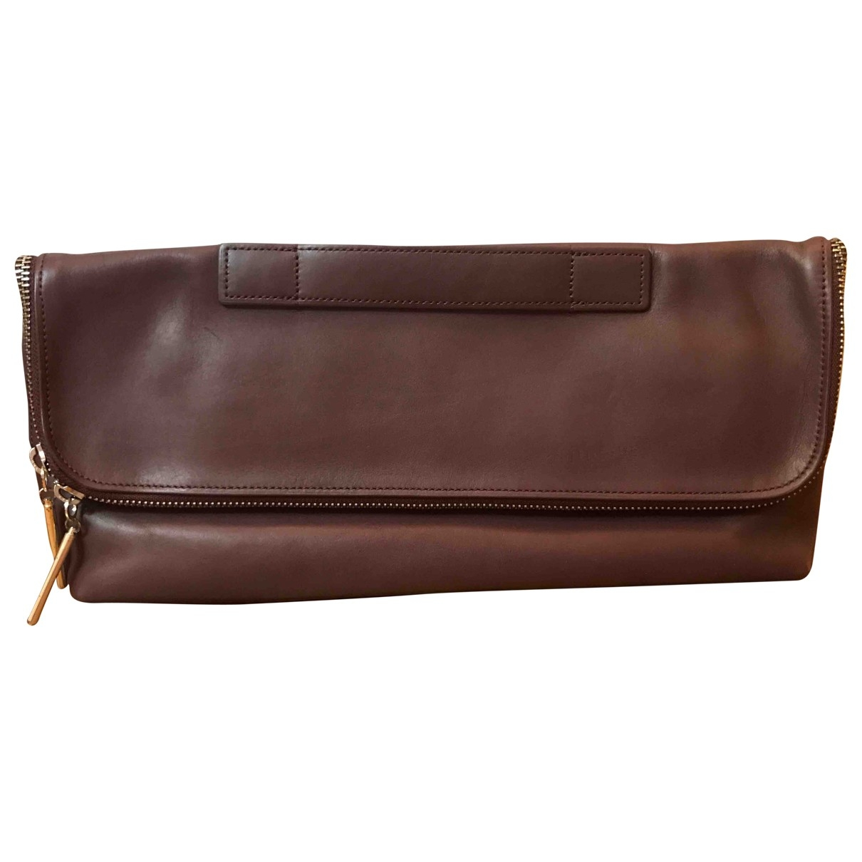 3.1 Phillip Lim \N Burgundy Leather Clutch bag for Women \N