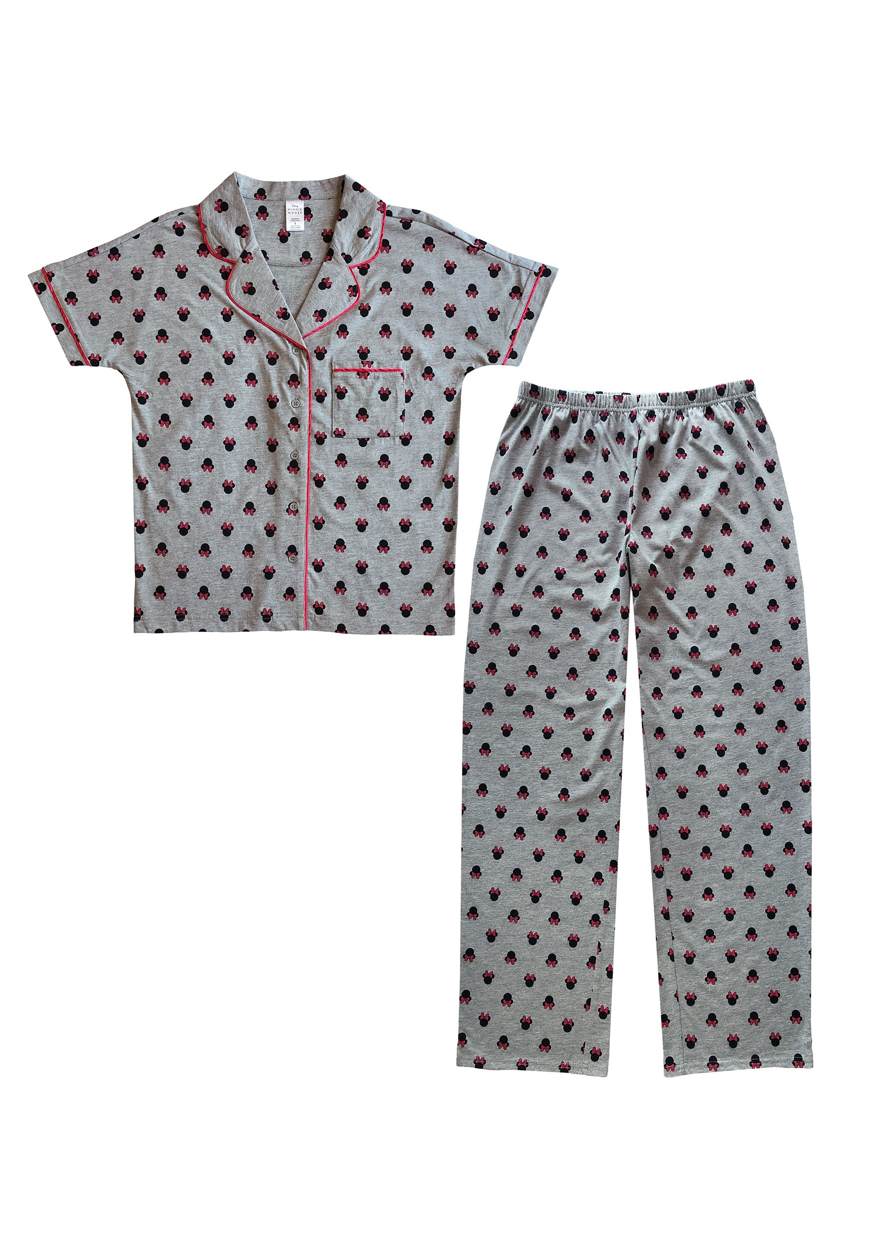 Minnie Mouse Stack Notch Sleep Set for Women