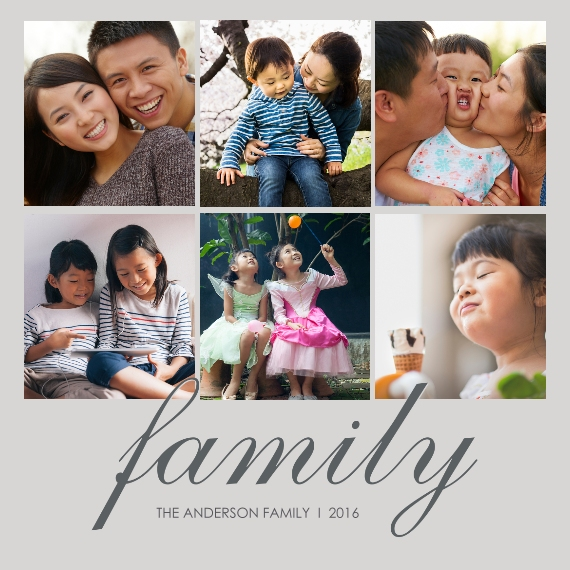 Family + Friends 8x8 Designer Print - Glossy, Prints -The Anderson Family