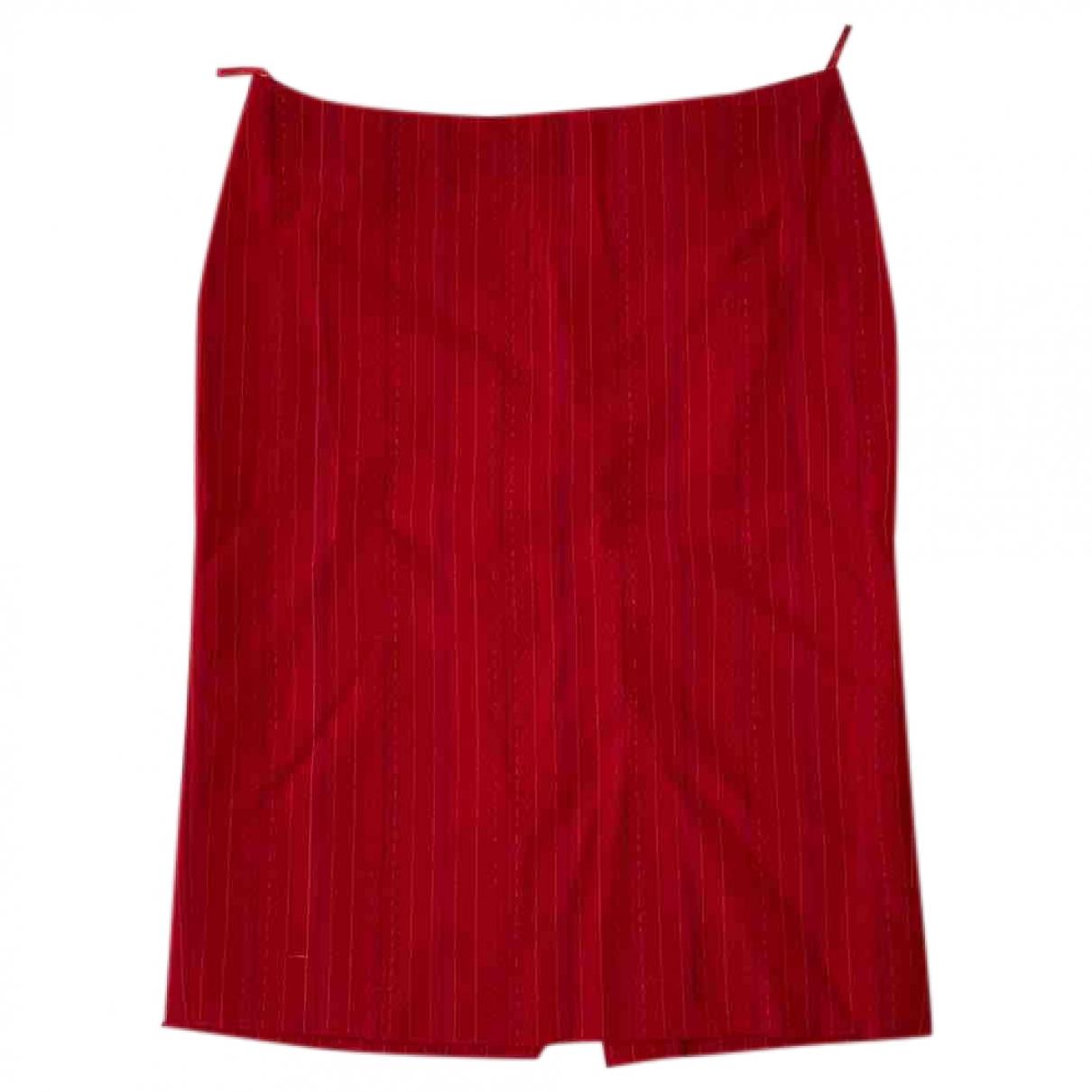 Versus \N Red Wool skirt for Women 38 IT
