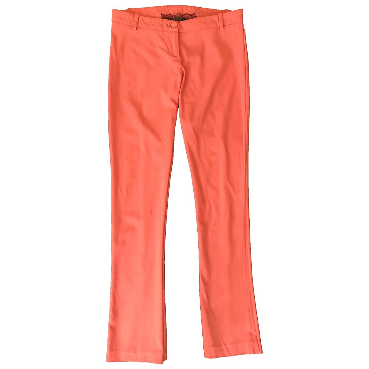Patrizia Pepe \N Pink Trousers for Women 42 IT