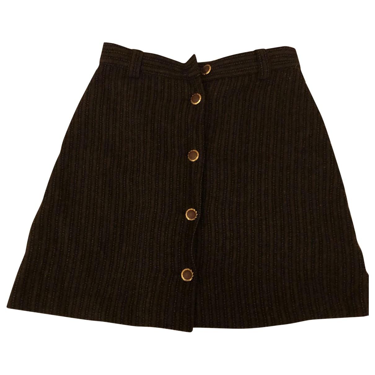Versace Jeans \N Brown skirt for Women 10 UK