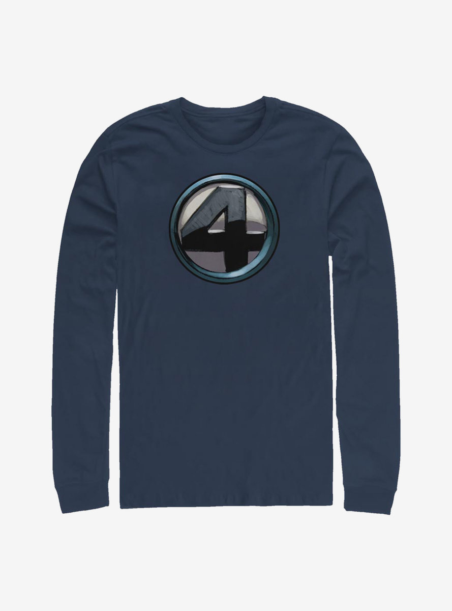 Marvel Fantastic Four Team Costume Long-Sleeve T-Shirt
