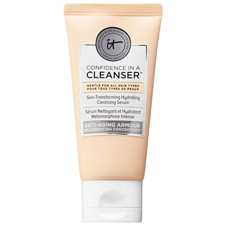 IT Cosmetics Confidence in a Cleanser Skin-Transforming Hydrating Cleansing Serum, One Size , Multiple Colors