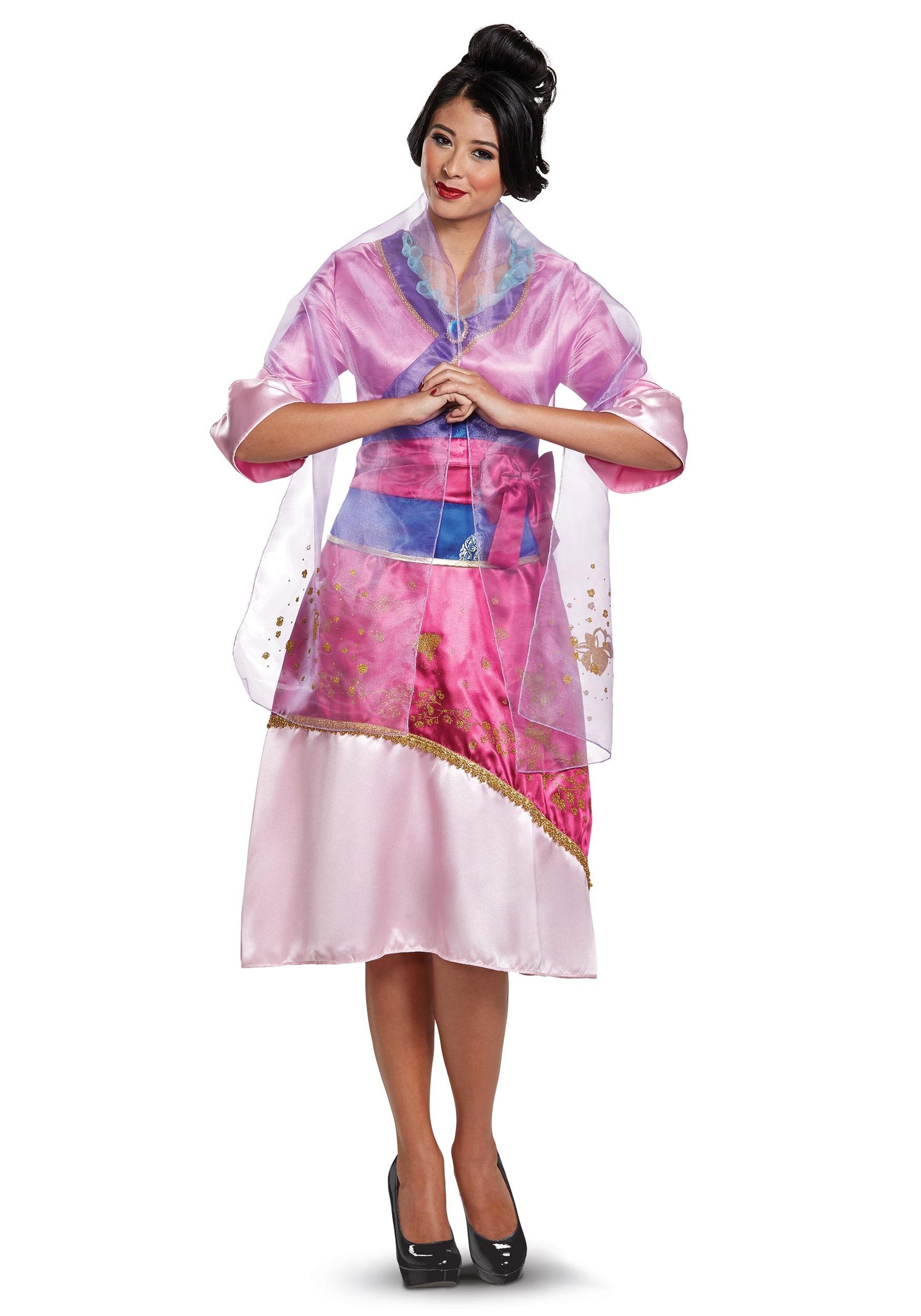 Disney Mulan Deluxe Costume for Women