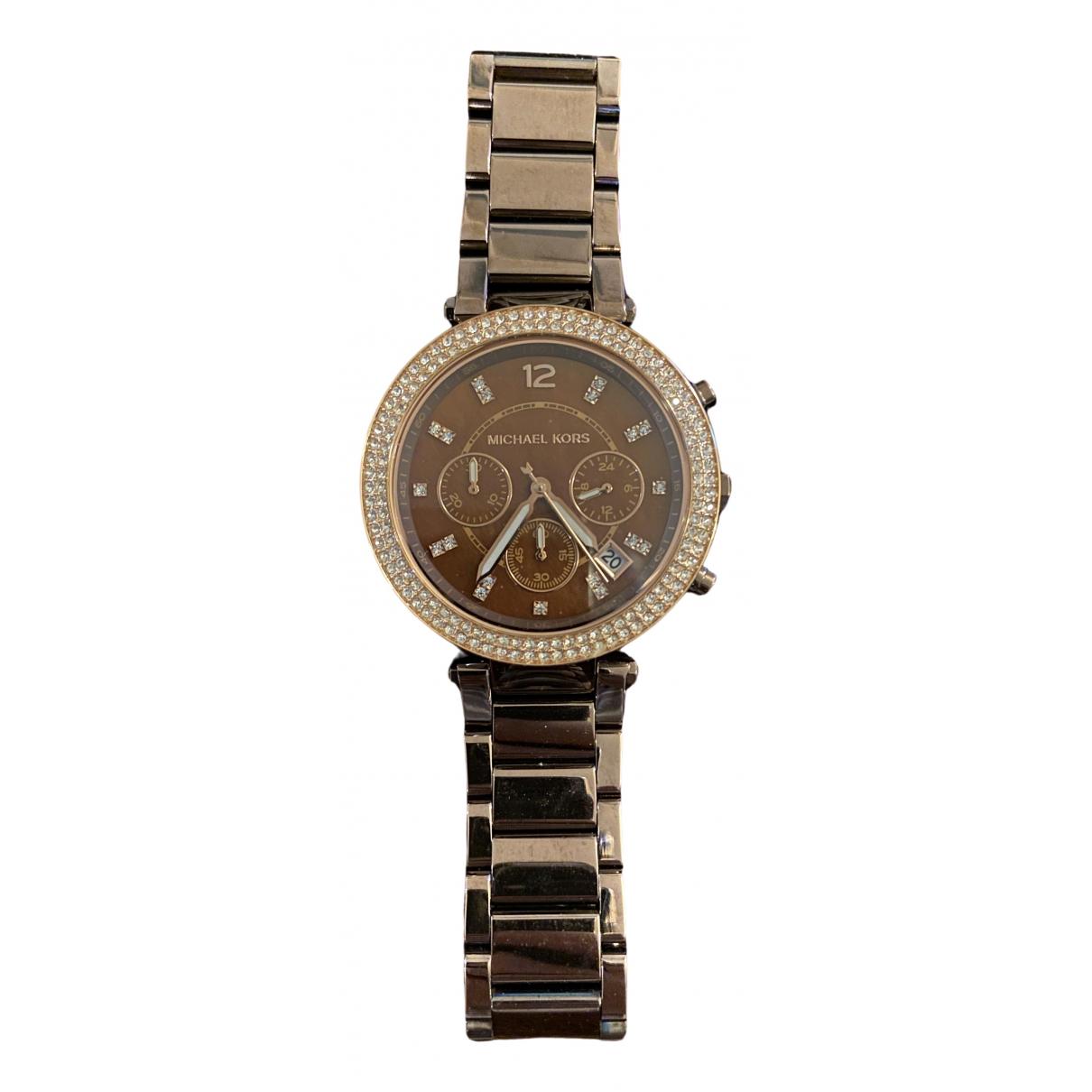 Michael Kors \N Brown Steel watch for Women \N