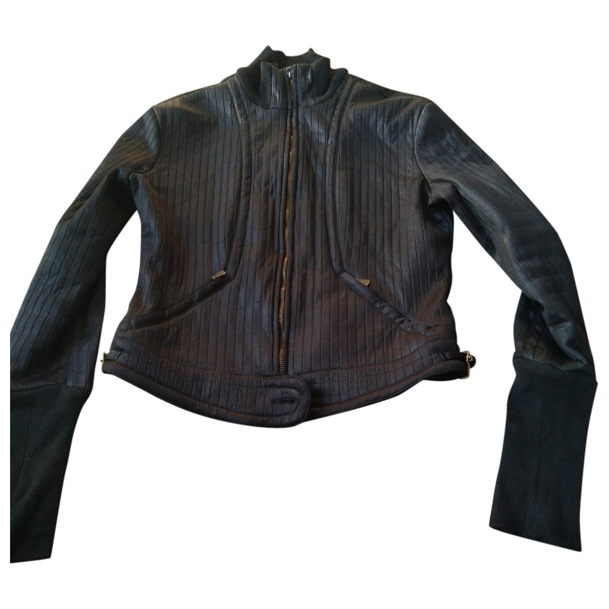 Versace Jeans \N Black Cotton Knitwear & Sweatshirts for Men S International