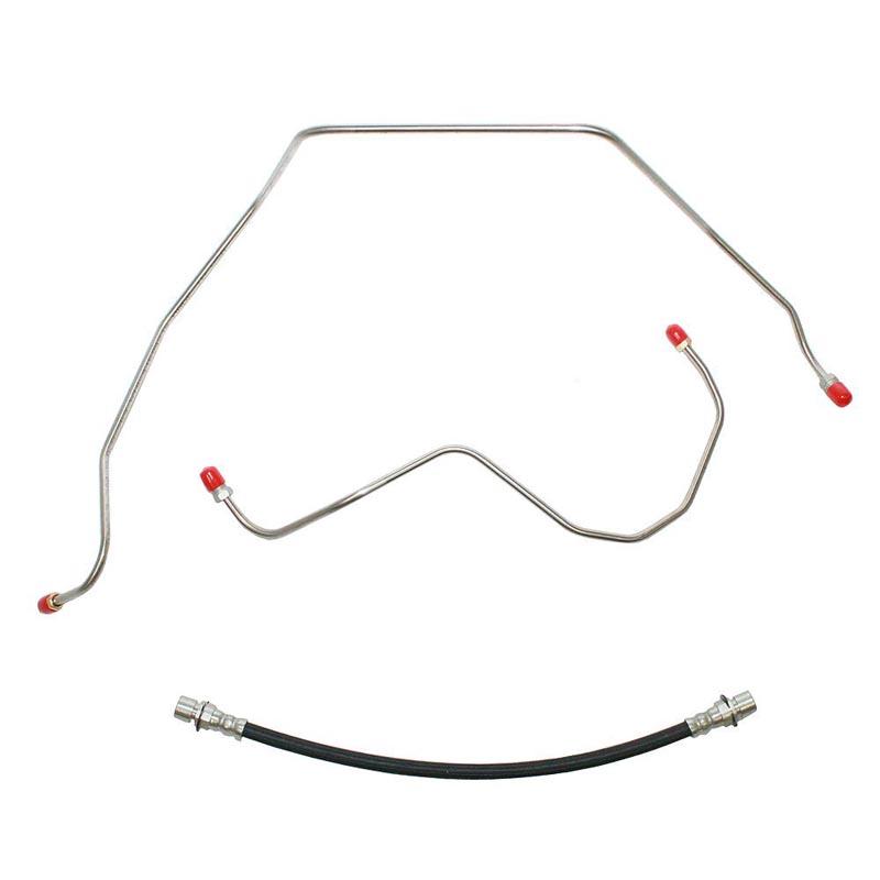 Fine Lines TCL8801OM Clutch Line Kit For 88-94 GM C1500 305/350CID Clutch Line Kit Steel
