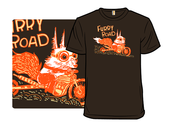 Furry Roadster T Shirt