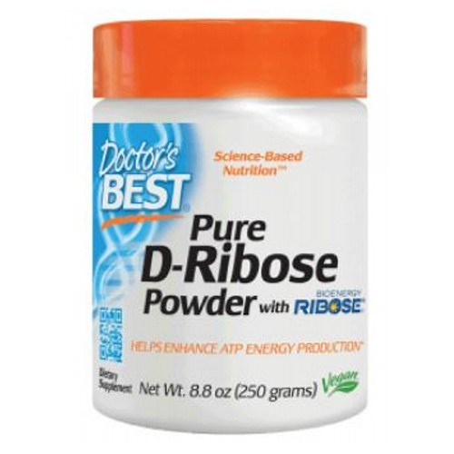 D-Ribose with Ribose 250 Grams by Doctors Best