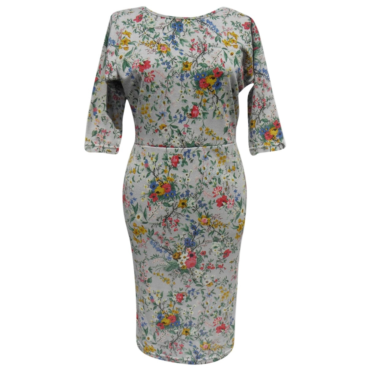 Kenzo \N Grey Cotton dress for Women 8 UK