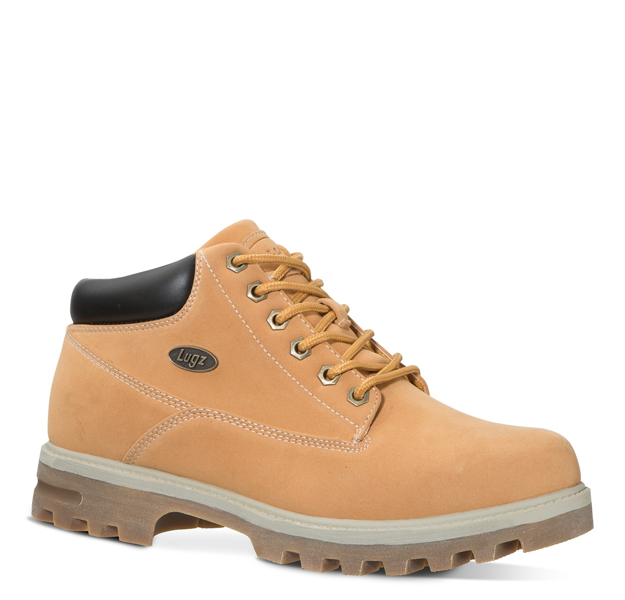 Men's Empire Water Resistant Chukka Boot (Choose Your Color: GOLDEN WHEAT/CREAM/BARK, Choose Your Size: 6.5)