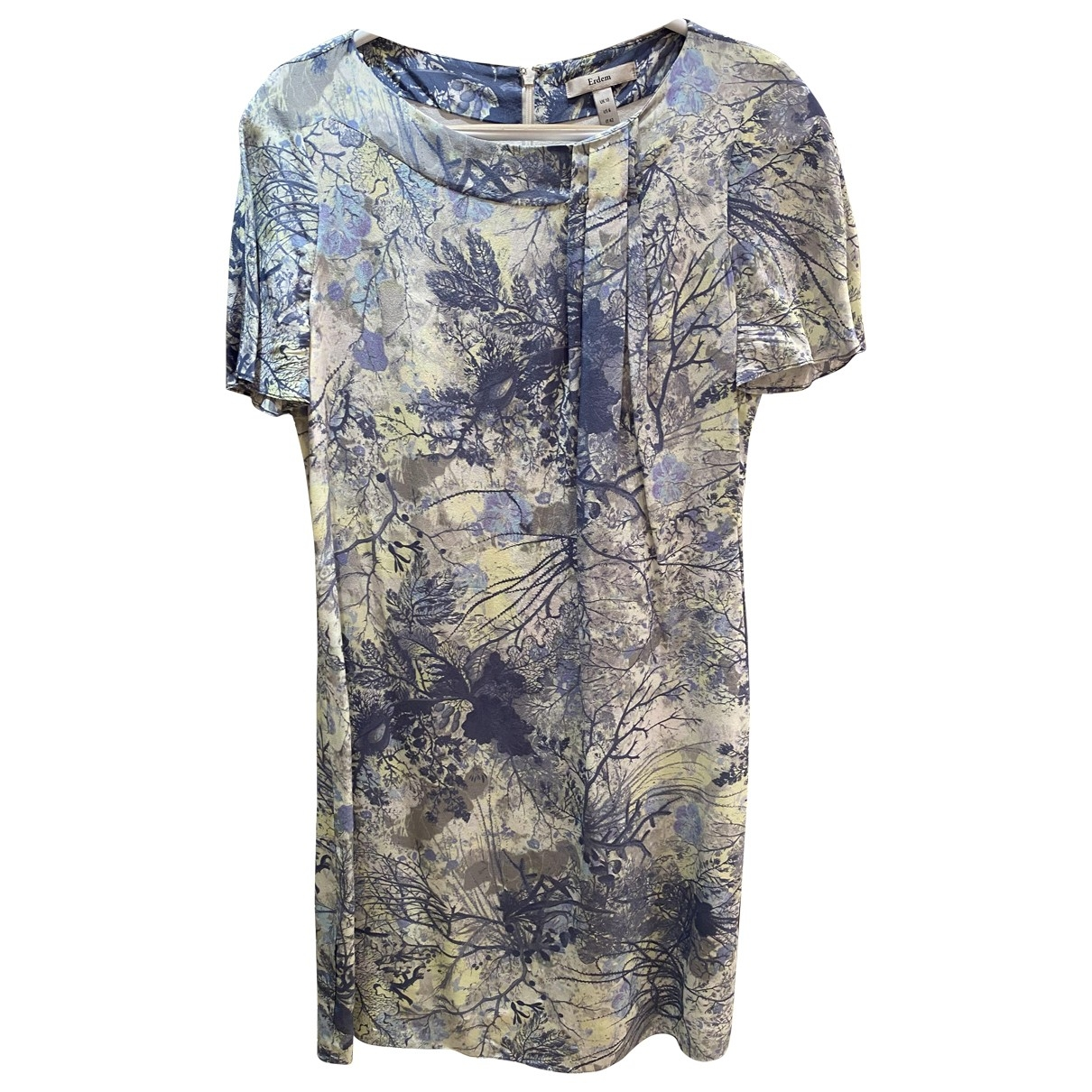 Erdem \N Multicolour Silk dress for Women 10 UK