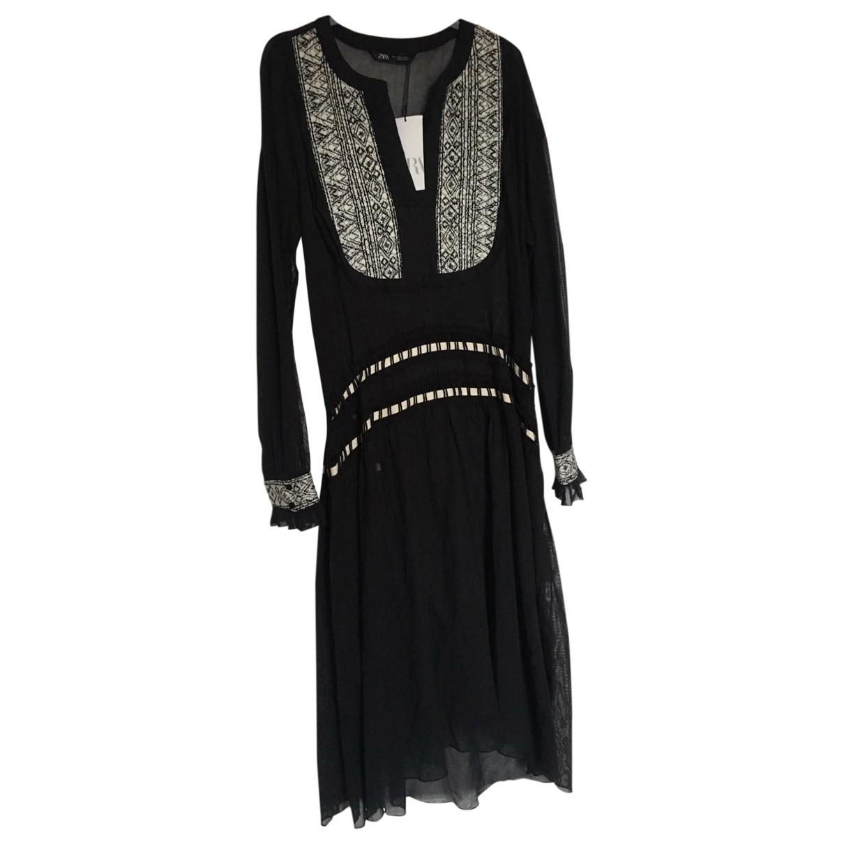 Zara \N Black Cotton dress for Women S International