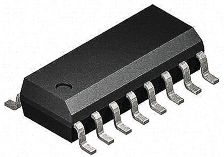 Maxim Integrated MAX14930DAWE+ , 4-Channel Digital Isolator 1Mbit/s, 2.75 kVrms, 16-Pin SOIC (46)