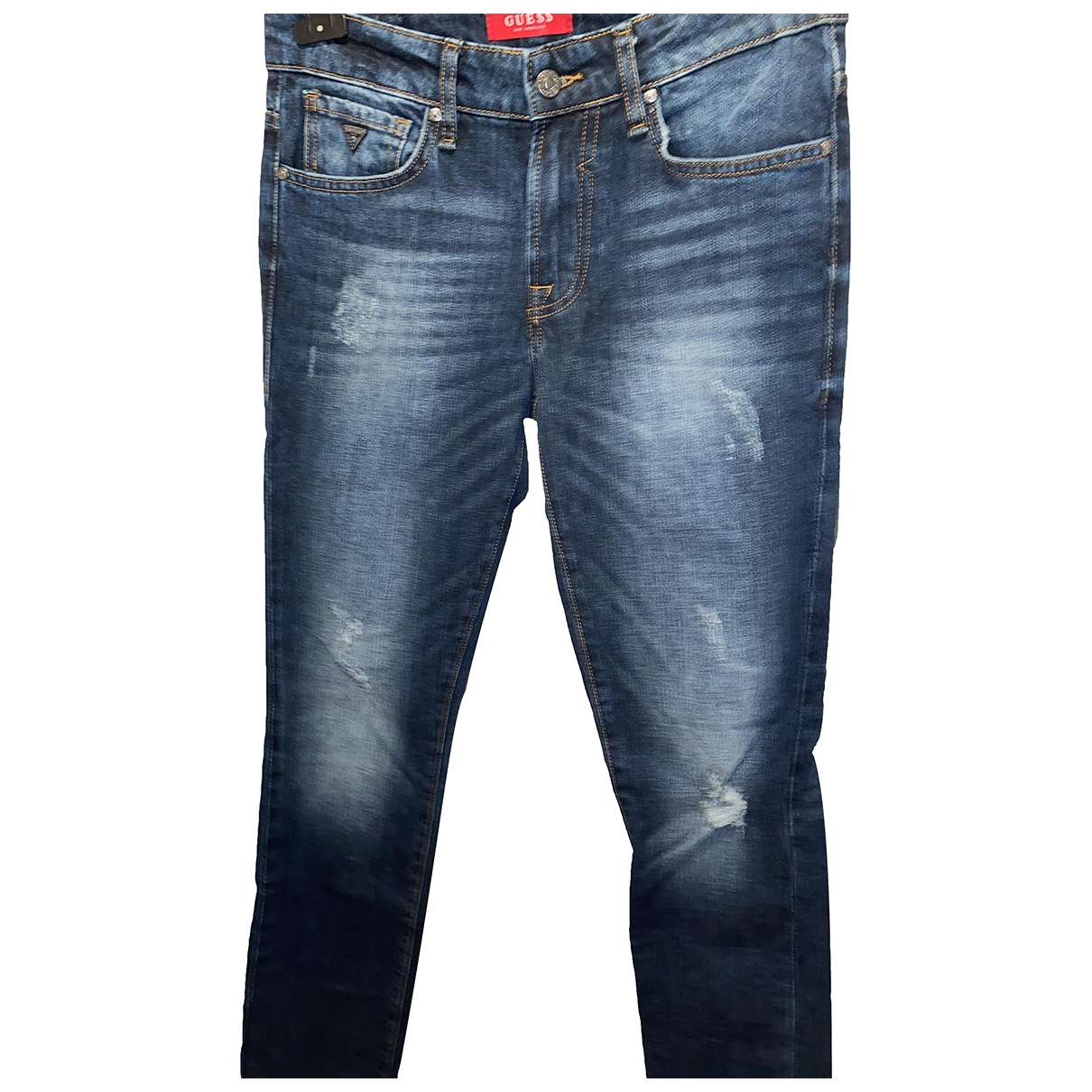 Guess \N Blue Jeans for Men 30 US