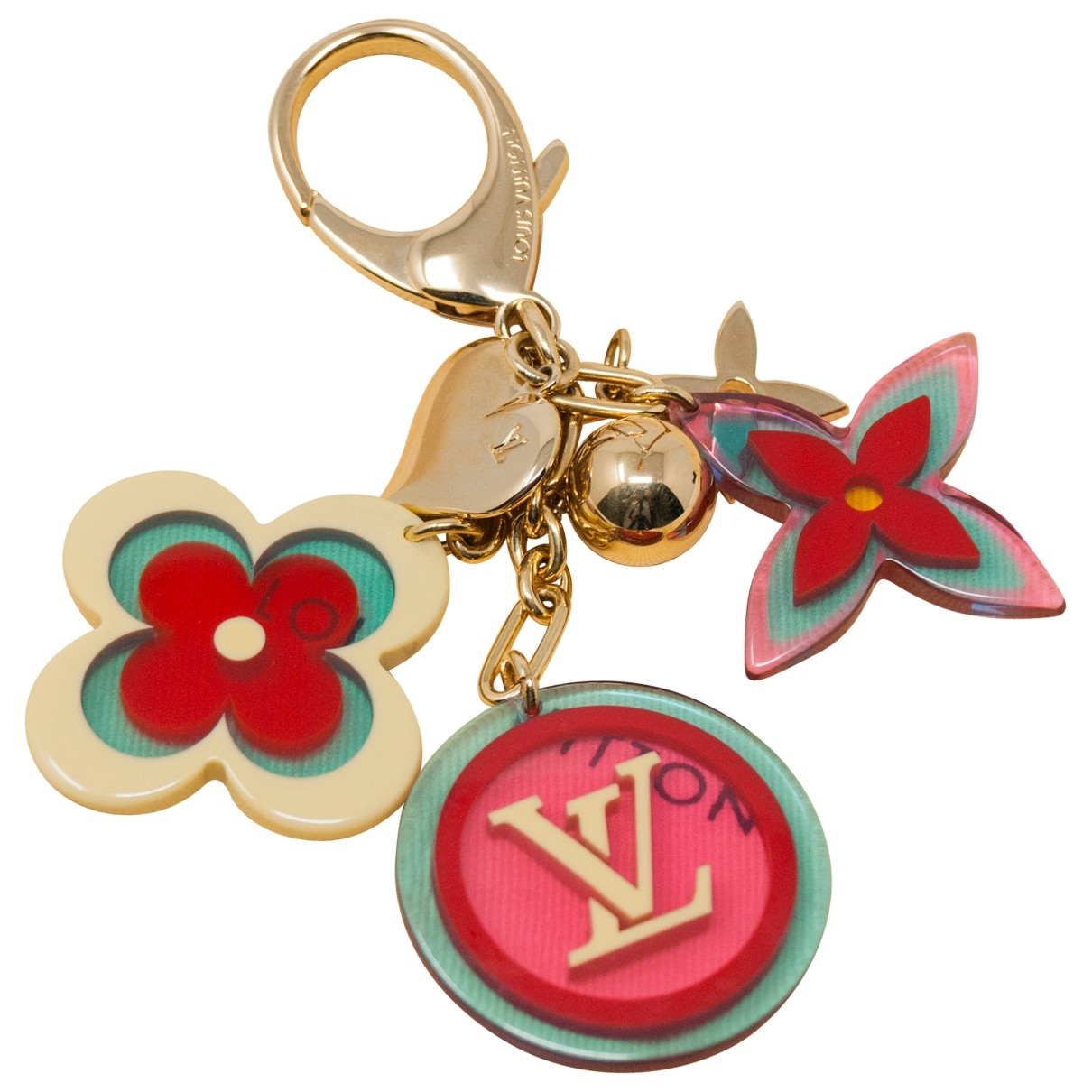 Louis Vuitton \N Gold Metal Bag charms for Women \N