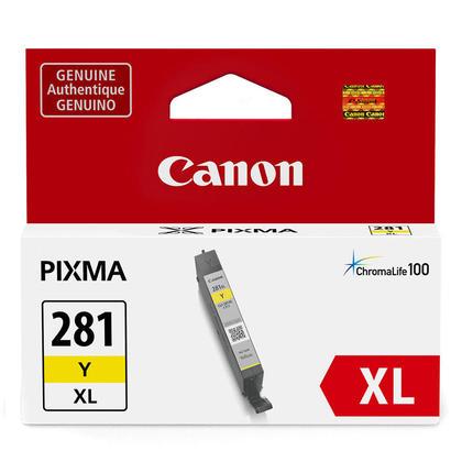 Canon CLI-281XL 2036C001 cartouche d'encre originale jaune haute capacité
