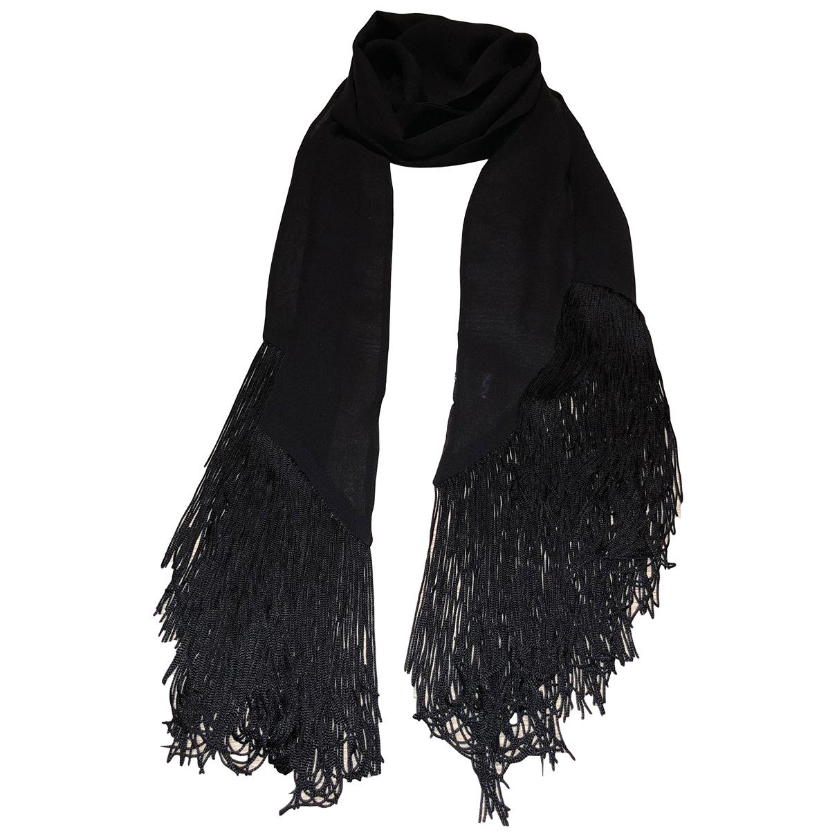 Wolford \N Black Silk scarf for Women \N
