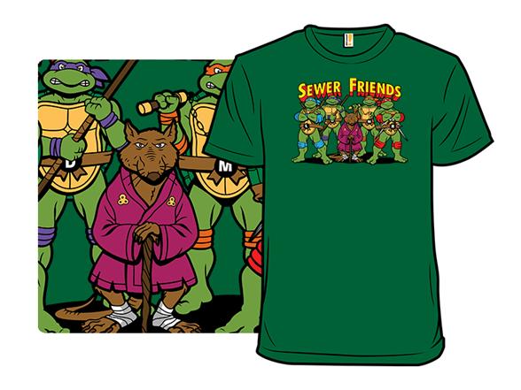 Sewer Friends T Shirt