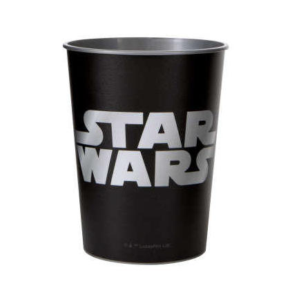 Star Wars Classic Logo 16oz Plastic Stadium Cup, 1ct