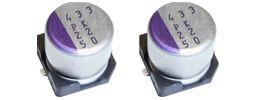 Panasonic 330μF Electrolytic Capacitor 16V dc, Surface Mount - 16SVPK330M (1000)