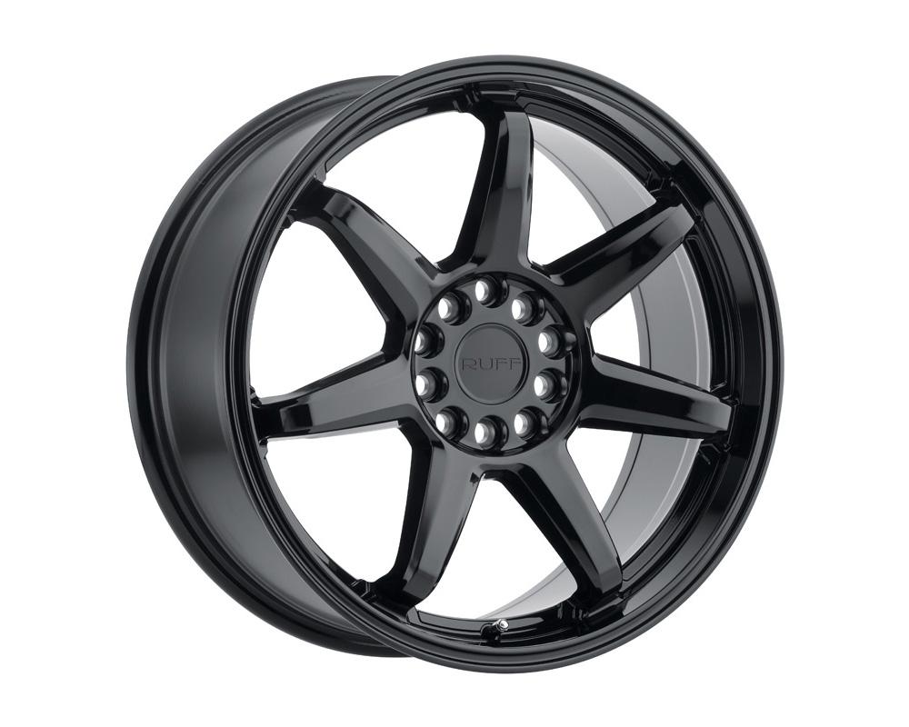 RUFF Shift Wheel 18x8 4x100 38mm Gloss Black