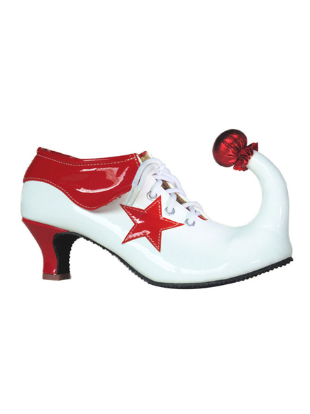 Milanoo Clown Shoes Circus Heeled Footwear