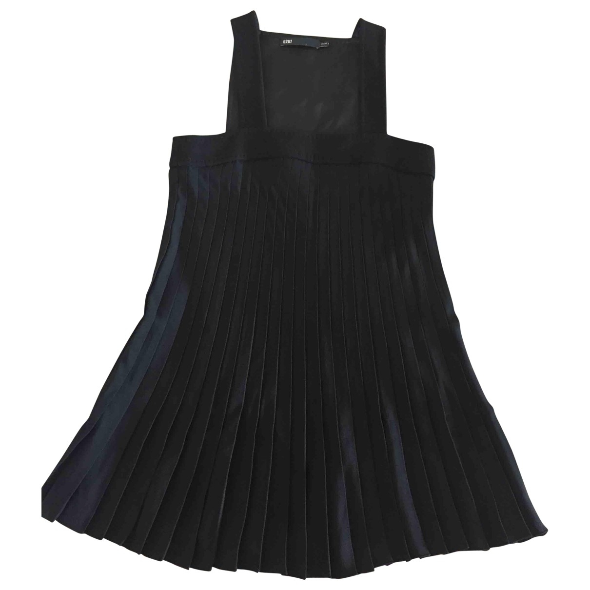 Non Signé / Unsigned \N Black Wool dress for Women 40 IT