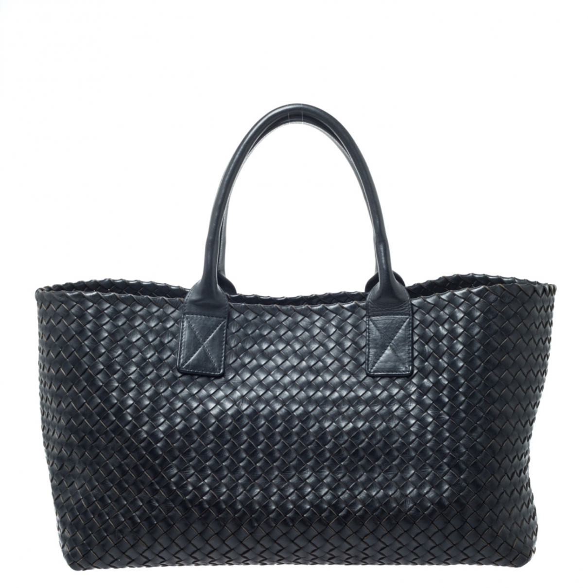 Bottega Veneta Cabat Black Leather handbag for Women \N