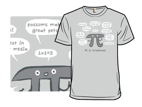 Irrational Pi T Shirt
