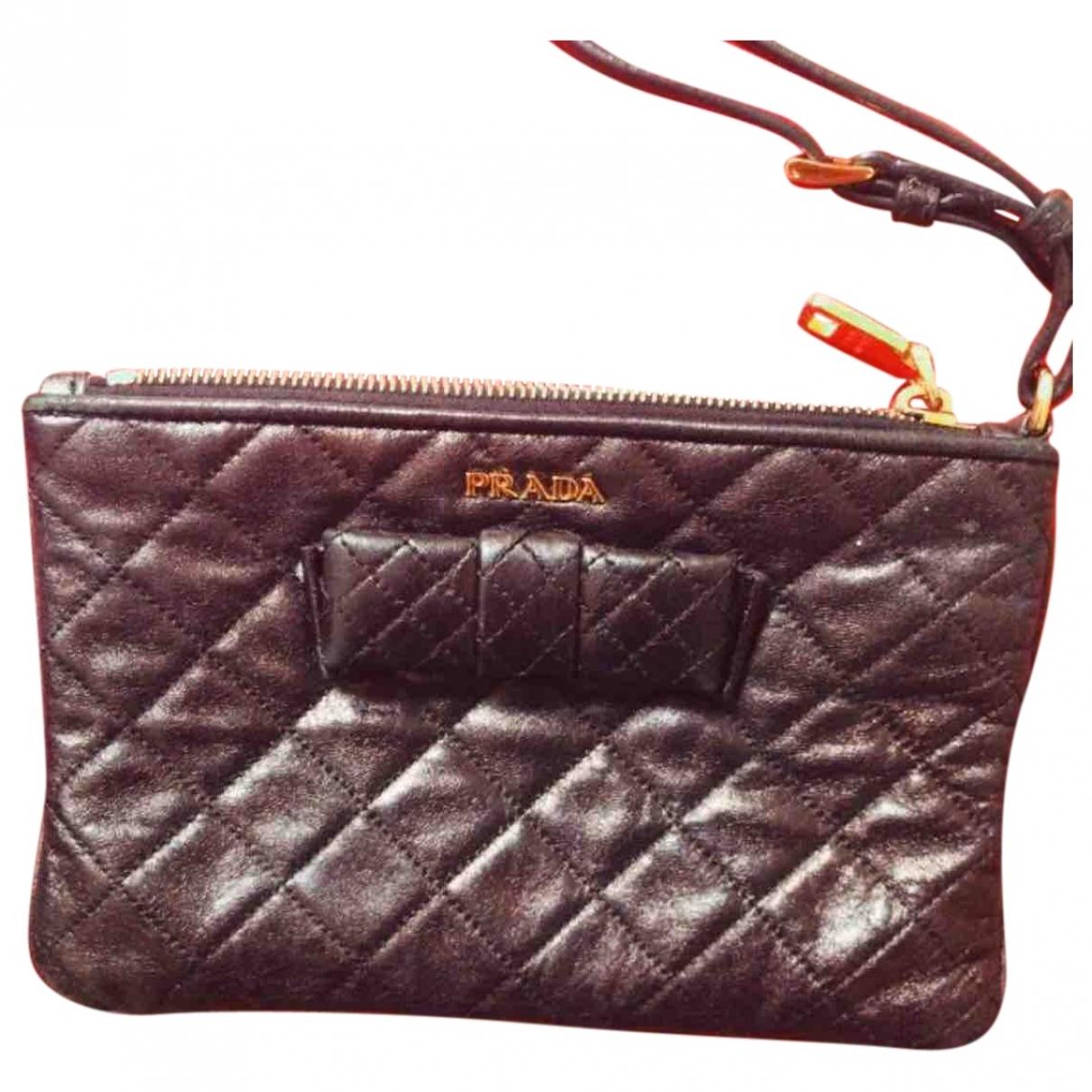 Prada \N Black Clutch bag for Women \N