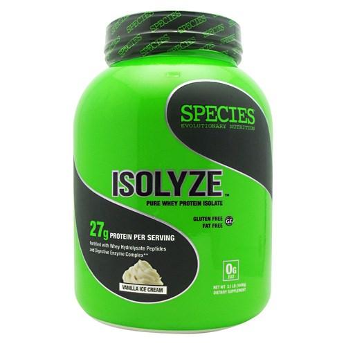 ISOLYZE Vanilla Ice Cream 44 serving by Species Nutrition