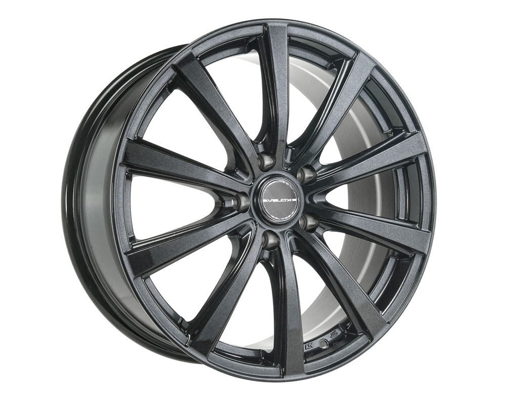Velox Nirvana Black Metallic Wheel 16x6.5 5x100 42