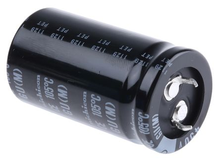 Nichicon 220μF Electrolytic Capacitor 450V dc Through Hole - LGU2W221MELA