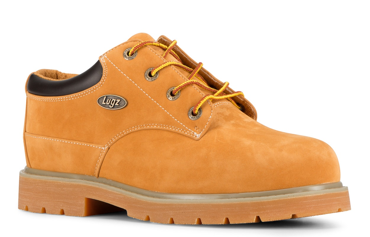 Men's Drifter Lo Steel Toe Oxford Boot (Choose Your Color: GOLDEN WHEAT/BARK/TAN, Choose Your Size: 6.5)
