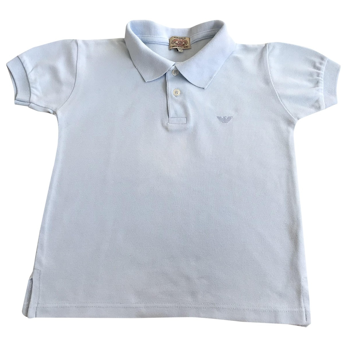 Armani Jeans \N Blue Cotton  top for Kids 6 years - up to 114cm FR
