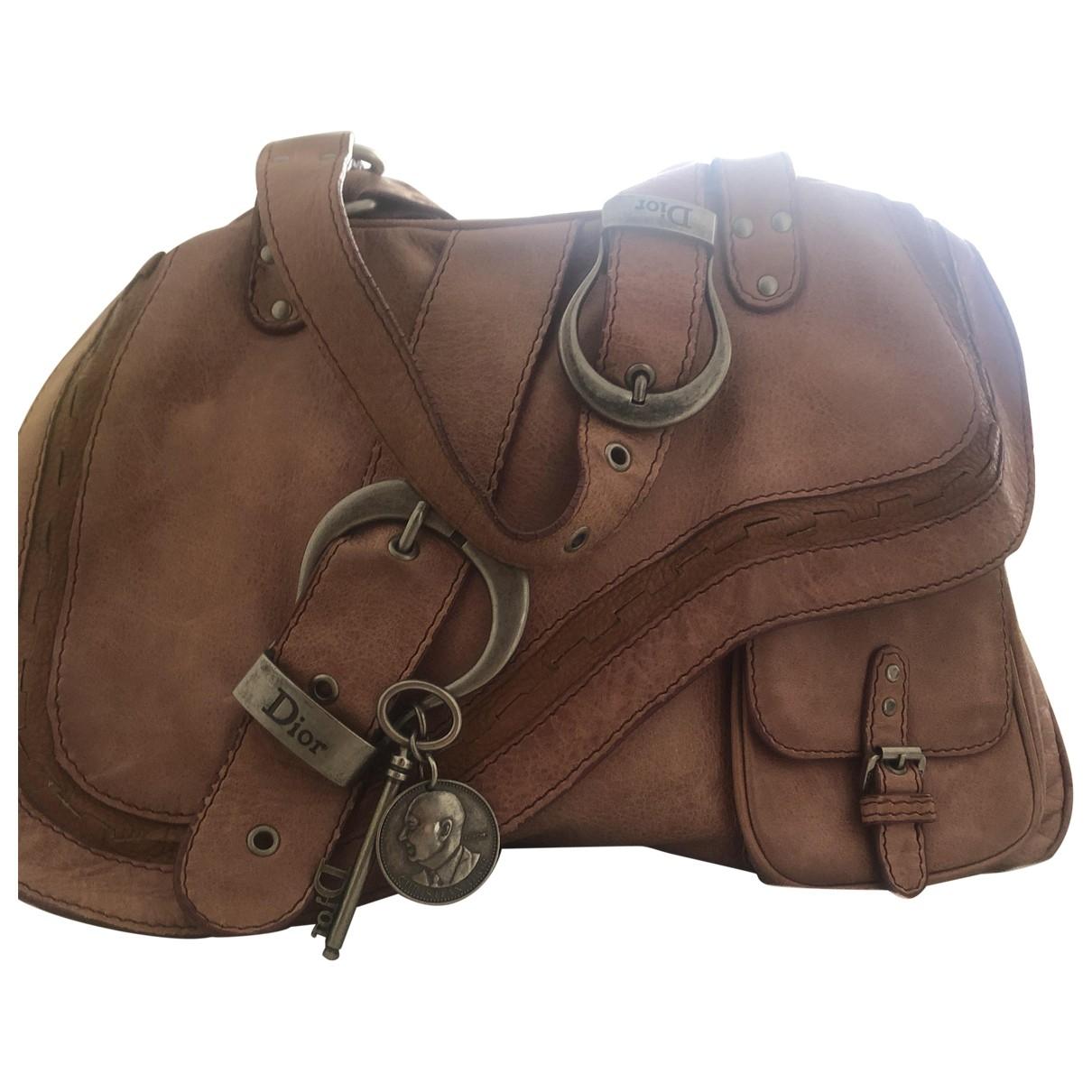 Dior Gaucho Pink Leather handbag for Women \N