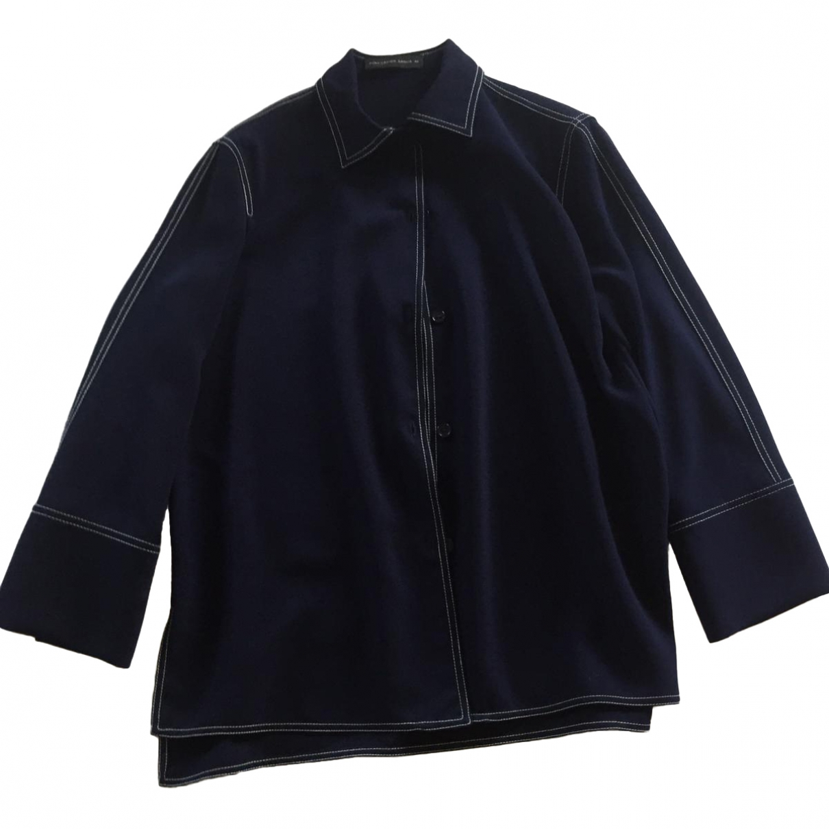 Non Signé / Unsigned \N Blue jacket for Women 40 FR