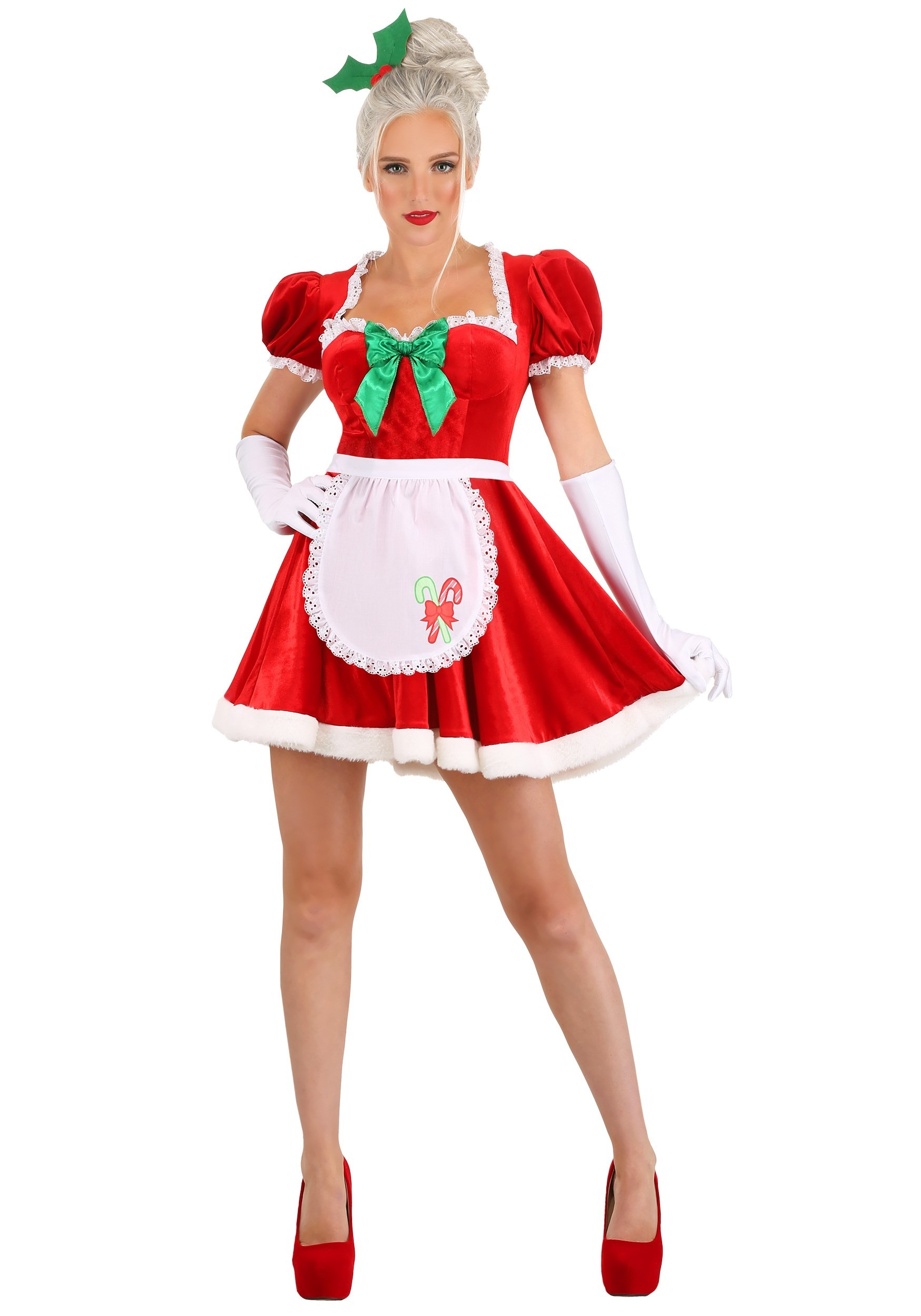 Sexy Classic Mrs. Claus Costume for Women