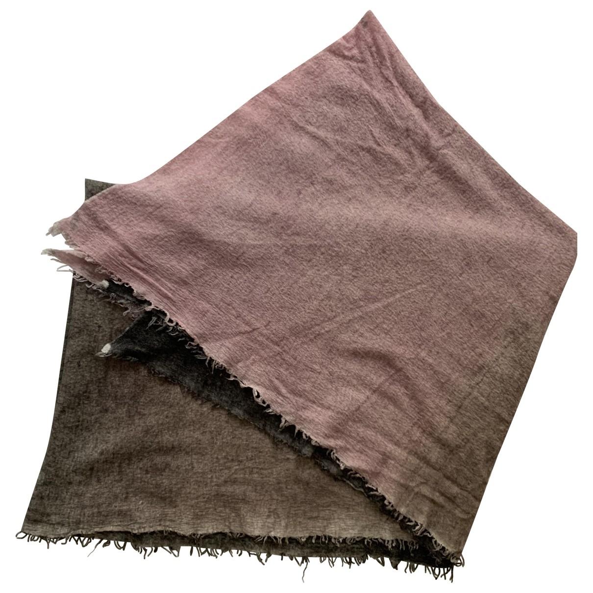 Faliero Sarti \N Multicolour Cotton scarf for Women \N