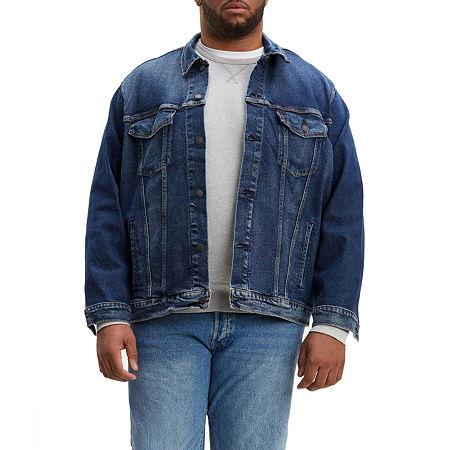 Levi's Midweight Denim Jacket Big, 4x-large Tall , Blue