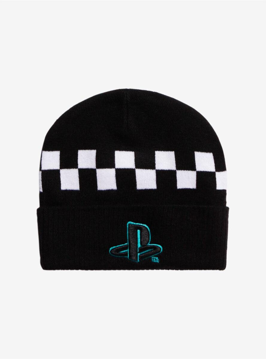 Playstation Checkered Beanie